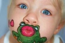 Face painting  / by Angela Sims McDonald