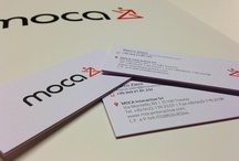 Corporate branding / Business cards and folders, here's ours new image coordinate!