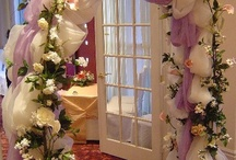 Wedding Arches / A collection of decorated wedding arches at ceremony locations.
