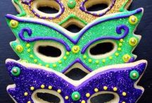 Mardi Gras / Mardi Gras decoration, food, and party ideas and inspiration.