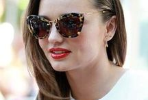 Shaded Lady / Sunglasses~I never go out during the day without sunglasses~Tory Burch  / by ~♥~Karen~♥~