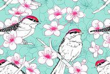 Fabrics en folie... / Du tissus qui déchire ! / by Jenny Sioux