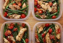 Meals / Lunch, dinner, salads, veggies, and savory meals.