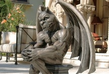Mythicals / Gargoyles, Dragons, Pixies, Fairies, Angels, Trolls - all real to me!