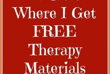 Therapy ideas: Printables, Websites, Apps