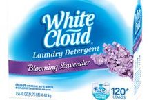 White Cloud Laundry Care / New to the White Cloud family of products in 2014 is White Cloud laundry care. Our fragrant detergents and softeners will help keep your clothes clean, fresh and as soft as a cloud! / by White Cloud®
