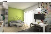 LivingSMART :: il soggiorno di Fabio / Progetto di architettura di interni di Spazio 14 10