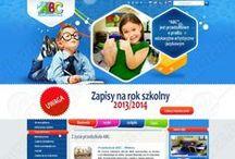 Web Layout / Przedszkole ABC / Web Layout / Przedszkole ABC