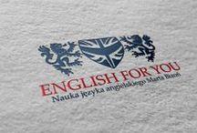 Logo / English for you / Logo / English for you