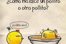 Humor ingenuo / Humor blanco