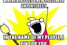 Pinning and other obsessions!