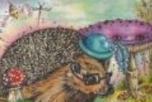 Michelle Caines - Children's Books Illustrations / Michelle Caines - Children's Books Illustrations