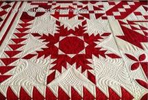 All Red & White Quilty Things