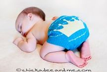 Action Shots - Wool Cloth Diaper Covers / Wool cloth diaper covers - even cuter when worn!
