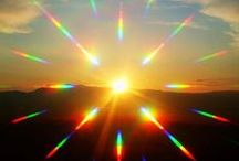 Sun and Light / Inspirational photos: sun rays, sun light, sunny shadows and sunny glows.