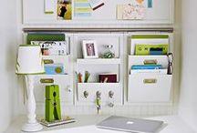 Organizadores para Home Office ♡ / Ideias de Organizadores de Parede para Home Office ♡