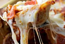 • Druelworthy Dinners • / All this yummy tasty cheesy food, I need to try it...