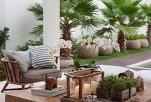 Varandas - sugestões de decoração / Decore sua varanda com estilo: opções incríveis para o espaço mais democrático da casa.