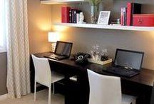 Home Office. / Para vc que precisa trabalhar em casa, que tal criar aquele Home Office bem bacana?