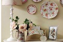 Pratos Decorativos para Parede / Pratos decorativos estão sempre na moda. Decoram diversos ambientes da casa.  E então, vamos decorar?