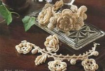 irish crochet accesories