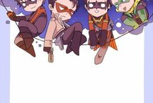 """Batfamily (aka Dick and the others) / the name says it all. And no i'm not obsessed with Dick, no, ah-ah......ok i am, happy now?   (and for gods sake please don't misunderstand the """"obsessed with Dick""""...... -_______-; )"""