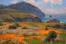 Plain air painring / Plain Air Landscape Painting,