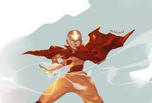 Avatar / Both the last air bender and the legend of korra. (Ps i'm a huge dork for zutara. No hate please)