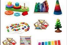 wood toys/old toys/ELC