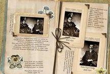 Scrapbooking / Idées de scrapbooking pour la généalogie. / by Gazette Ancêtres