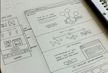 Web sketches  / Wireframes / Style Guides