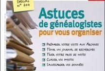 Organisez votre généalogie / Outils, méthode, conseils pour organiser ses documents et ses recherches généalogiques. / by Gazette Ancêtres