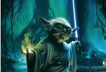 Star Wars Fan Art / May the force be with you.