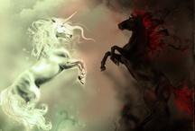 Unicorns and Pegasus'