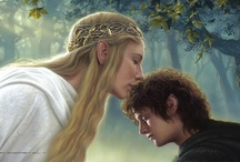 Lord of the Rings and The Hobbit Fan Art / One ring to rule them all.