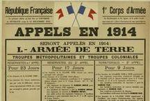 14-18 / Première Guerre mondiale. / by Gazette Ancêtres