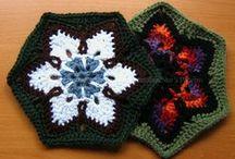 Crochet - Hexagons