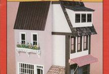 A - Hobbies: Dollhouses / Miniature Dollhouses / by Liza Gervais