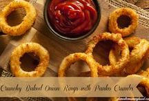 DINNER / fries, burgers, soft drinks, hot dogs, etc