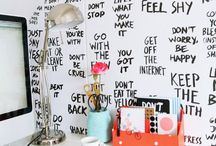 room decor / Just inspiration...