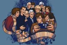 Doctor Who Fan Art / Wibbly Wobbly Timey Wimey Stuff. / by Emma Somers