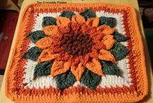 "Crochet - Squares 12"""