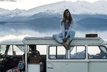 Road Trips / I love the idea of travelling the roads with a mobile home. Freedom!