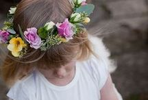 accessories: flower girl / floral accessories for flower girls