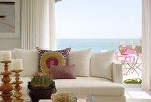 Beach House/Cottage-1 / Beach Houses or Beach Cottage.....and Coastal Living....including the living rooms, kitchens, dining rooms, bedrooms, bathrooms, mudrooms, entryways, etc. / by Cheryl Linford - Urban Cottage Interior Designer