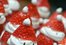 FOOD + OTHER....CHRISTMAS / All ideas for christmas involving FOOD PARTY ideas DECORATIONS
