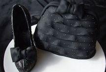 Purse & Shoes cake
