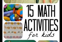 Math Activities / We understand that trying to find fun math activities for your child can be overwhelming! That's why we've collected some of our favorite activities from around the web into one easy place for you.