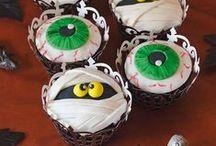 Halloween cakes-cupcakes-cookies ....
