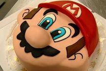 Mario Bros cakes